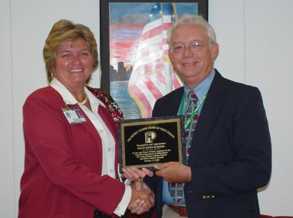 Pasco school district honors Gulf