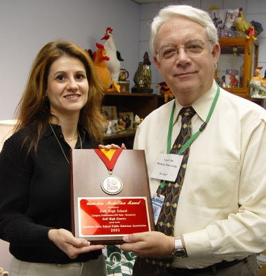 Gulf newsletter wins first place statewide award