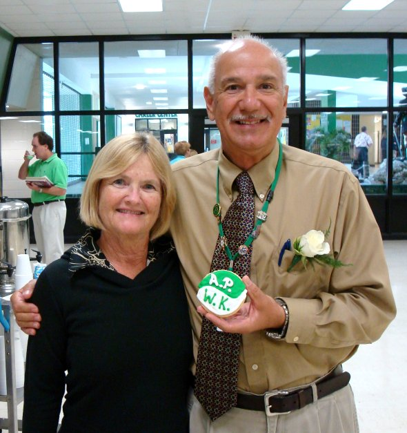 Honoring Mr. Palma and Mrs. Kall