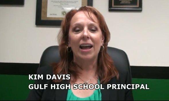 Video clip – Gulf's new principal