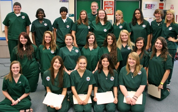 All HCA seniors who took the CNA exam passed it