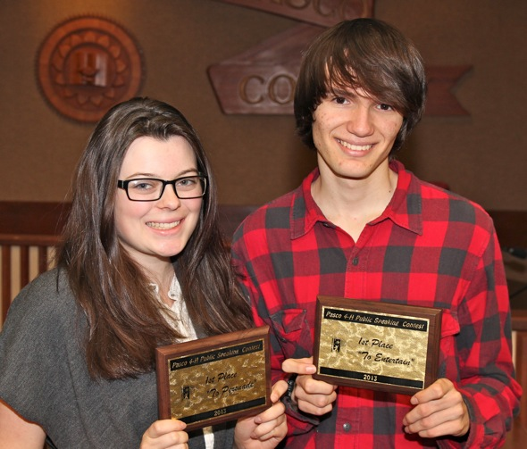Both Gulf students take 1st place at public speaking contest