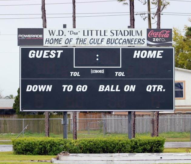 New Scoreboards At GHS