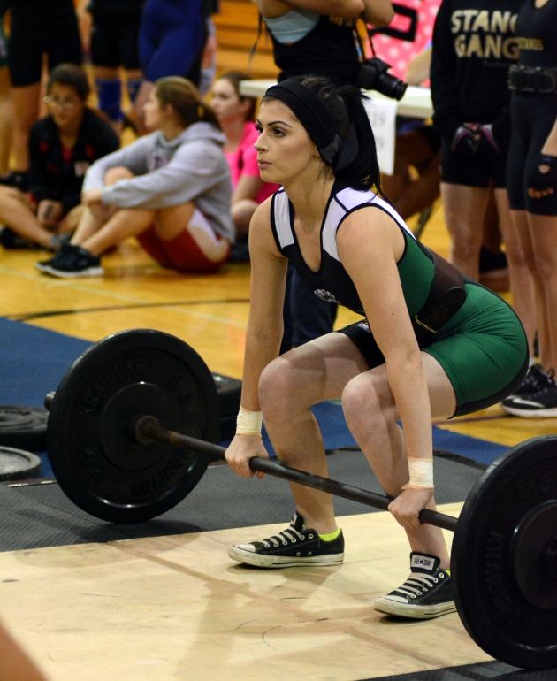Girls Weightlifting News Gulf High School