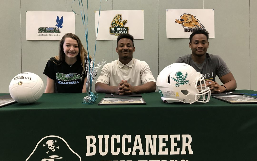 Student-Athletes Sign College Offers
