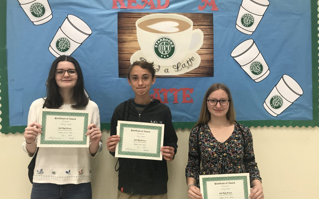 Students & Bucs of the Month Awarded