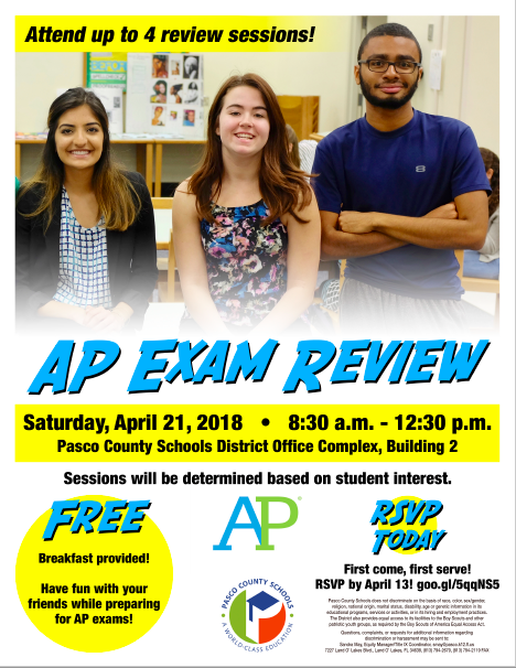 AP Review Flyer