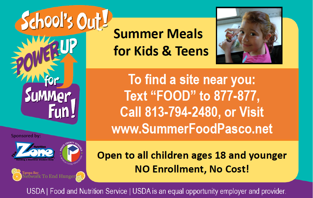 Gulf High School offers Free Summer Meals