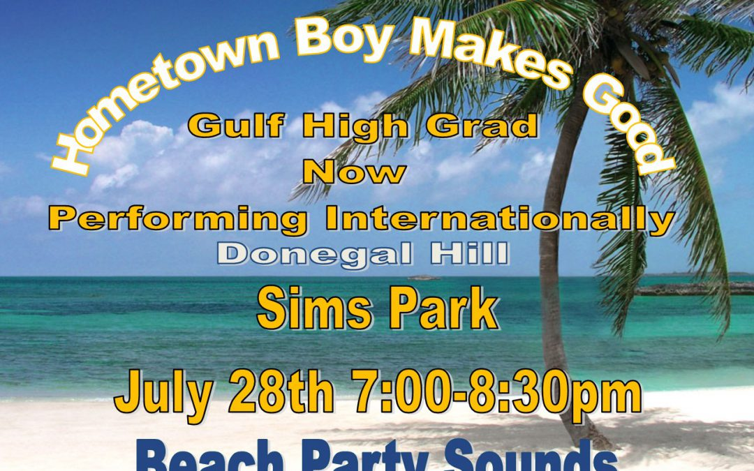 Sims Park offers Free Concert featuring GHS Alumni
