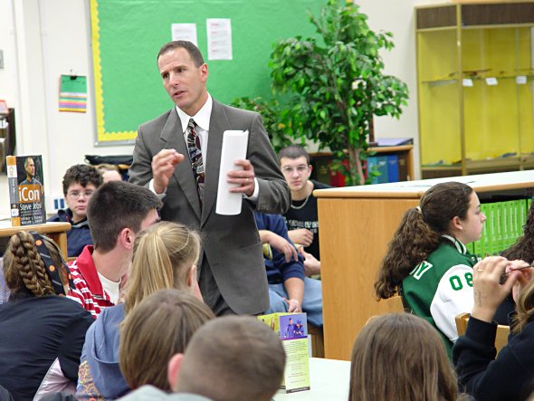 Gulf students learn about Marchman