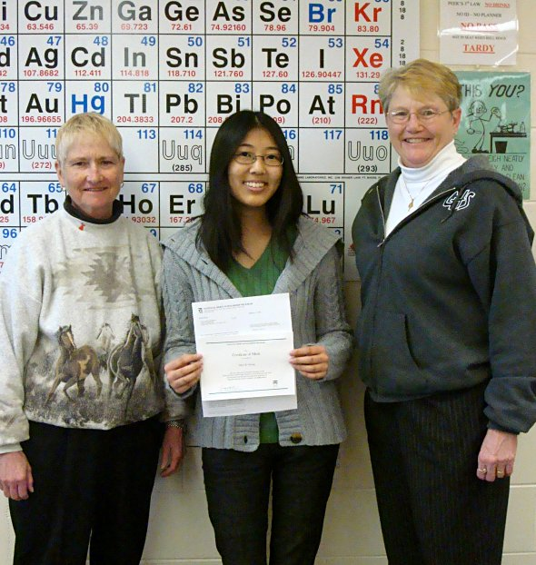 Alice Chang named National Merit Finalist