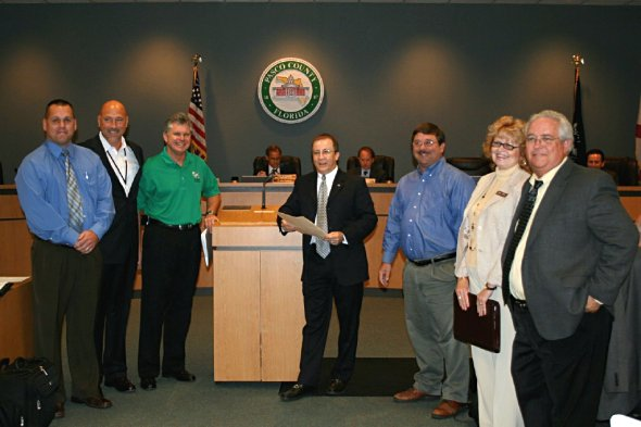 County Commission honors Gulf High School
