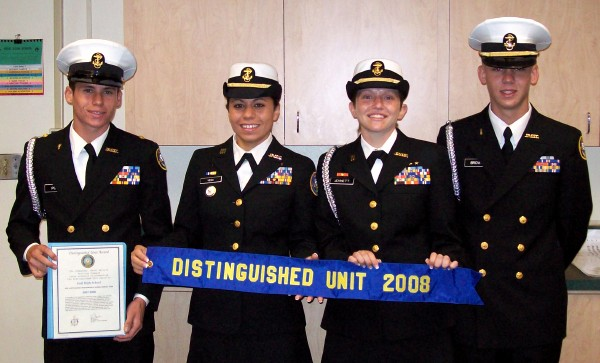 NJROTC Distinguished Unit Award