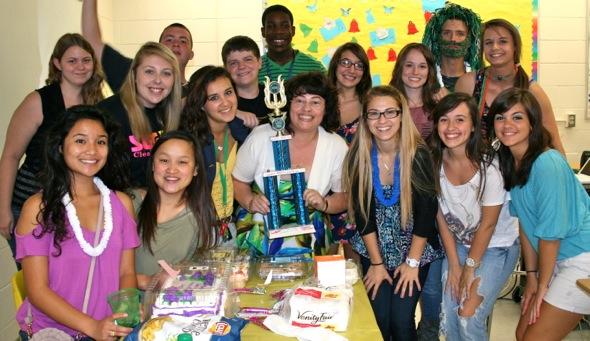Period 5 students love Mrs. Gabay