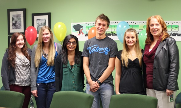 Valedictorians and salutatorians are named (pictures and video)
