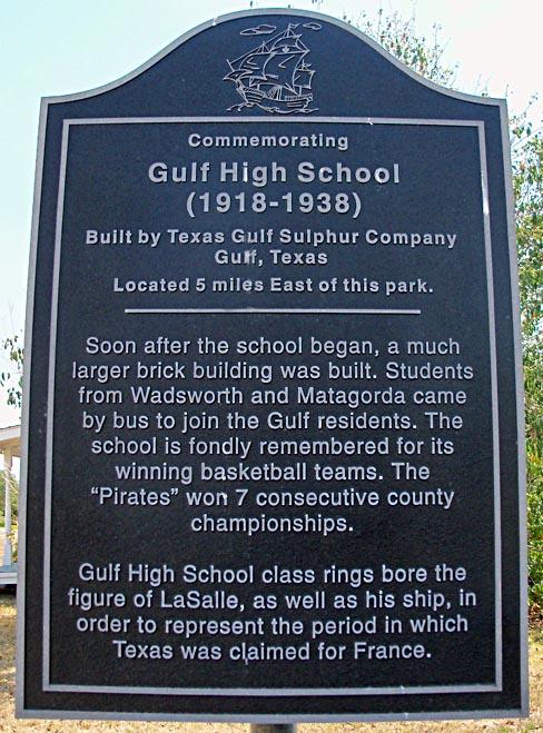 Gulf High School trivia
