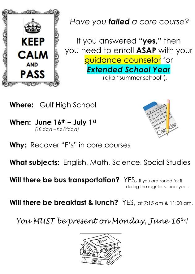 keep calm school year
