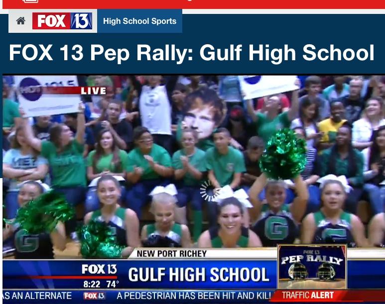 Fox 13 pep rally – Fox 13 video