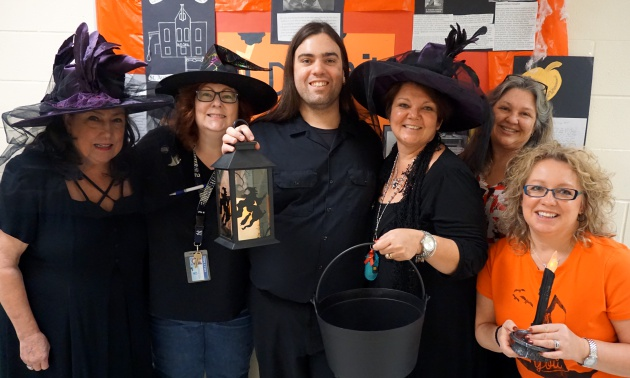English Teachers On The Day Before Halloween Gulf High School