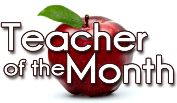 Nominate for Teacher of the Month