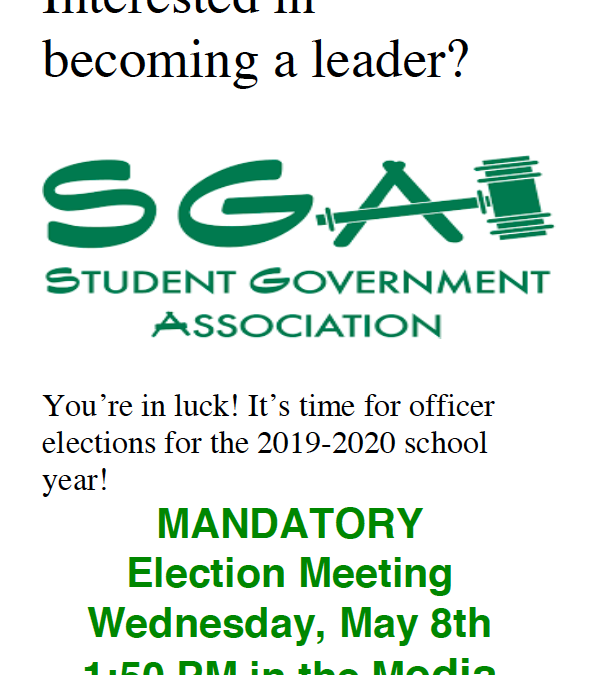 Interested in Student Government?