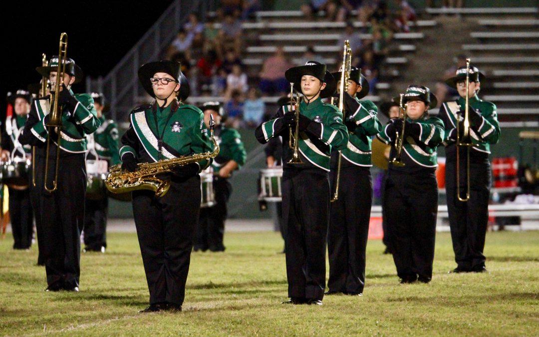 GHS Band Demonstrates Buccaneer Pride