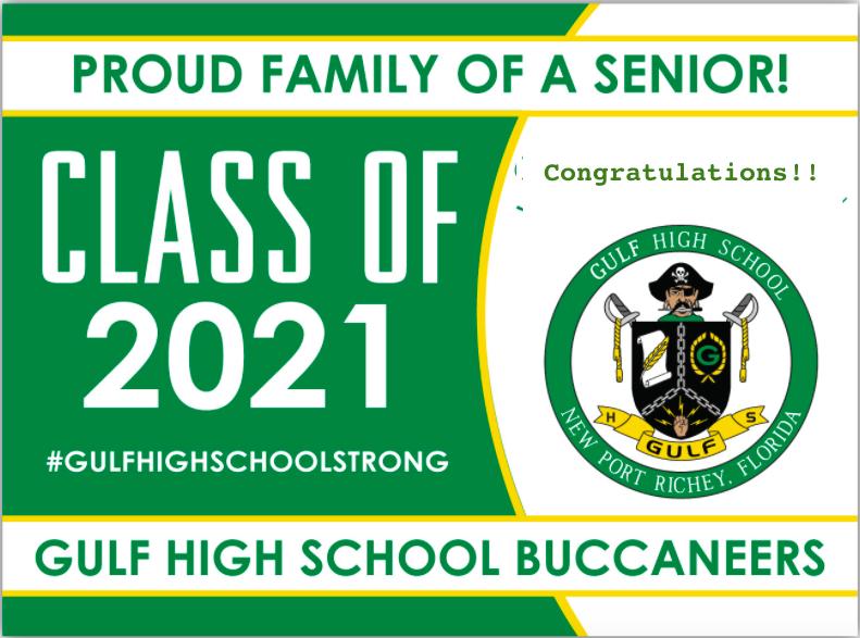 Gulf High School Class of 2021 Senior Activities