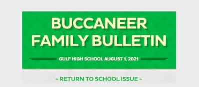 Buccaneer Family Bulletin